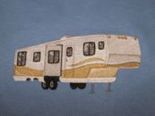 Embroidered Fifth Wheel Camper
