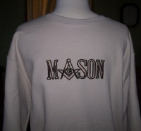 Embroidered Masonic Lodge Sweatshirts