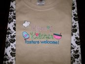 Embroidered Mimi's Kitchen T-Shirt