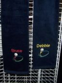 Embroidered Personalized Golf/Sports Towels